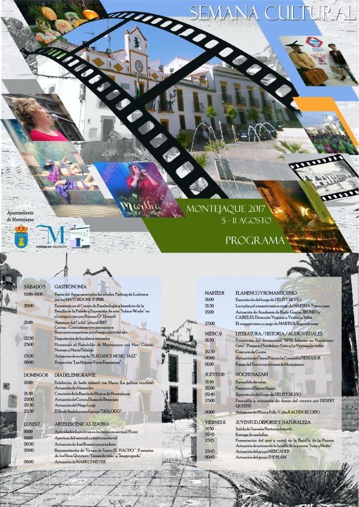 Programa Semana Cultural 2017